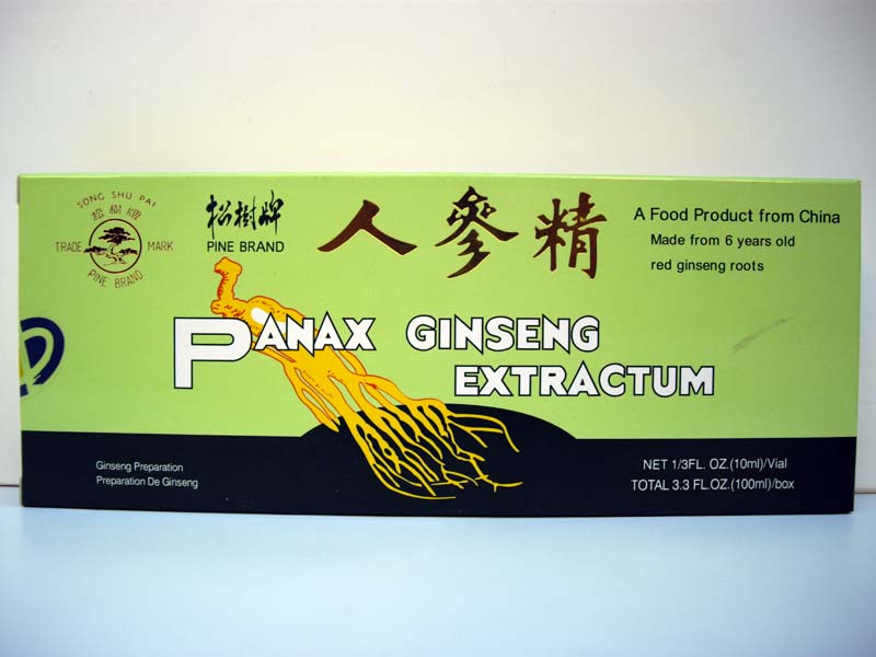 Panax Ginseng Extractum in Fiale