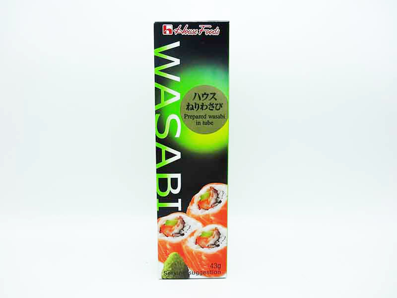 Wasabi In tubo 43 g Giapponese - House Foods