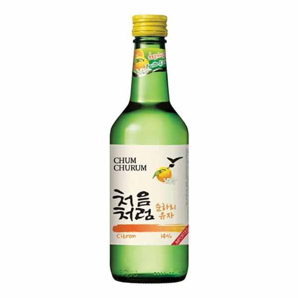 Soju allo Yuzu 360 ml, Chum Churum