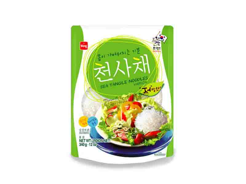 Spaghetti di Alghe Kelp (Kombu) 340 gr - Sea Tangle Noodles