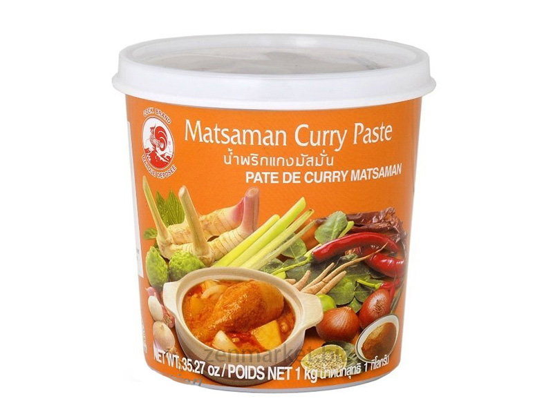 Curry Matsaman in Pasta Tailandese - Curry paste massaman