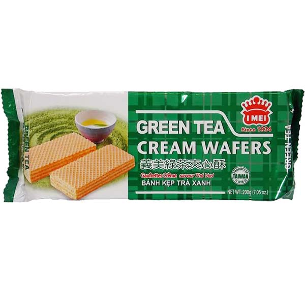 Wafer al Matcha 200 g, i mei SINCE 1934