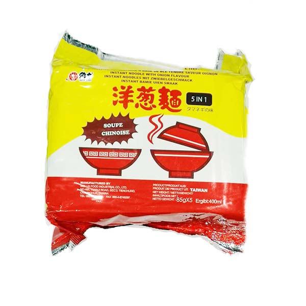 Noodles al gusto cipolla pack 425g (85g x 5), Wei Lih