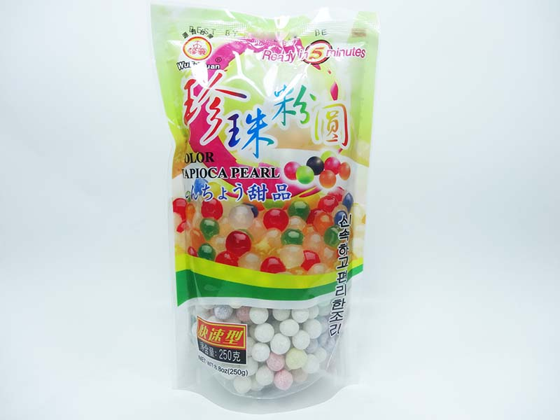 Perle di tapioca Colorate Grandi per bubble tea - boba tea