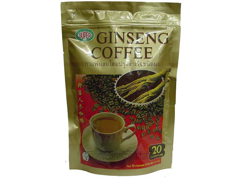 Super Coffee Ginseng, Caffè solubile al Ginseng