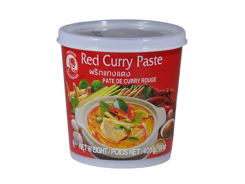 Curry Rosso Tailandese In Pasta - Red Curry Paste