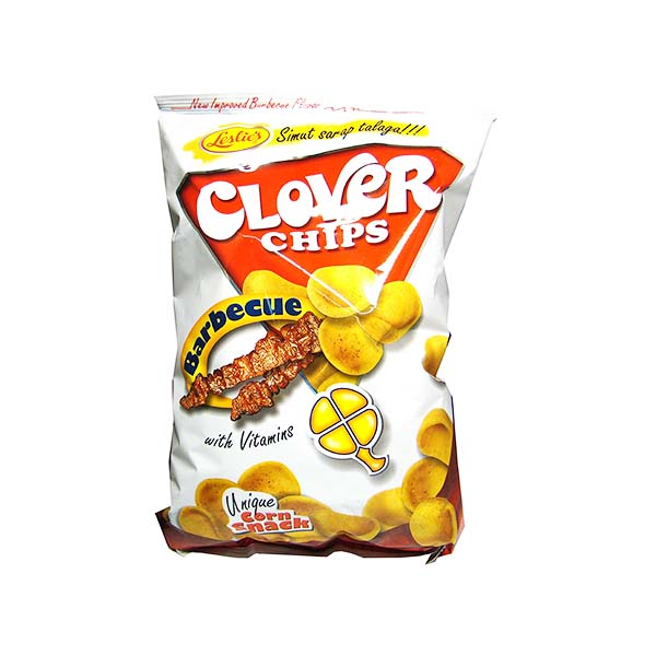 Snack di mais al barbecue 85g, Clover Chips