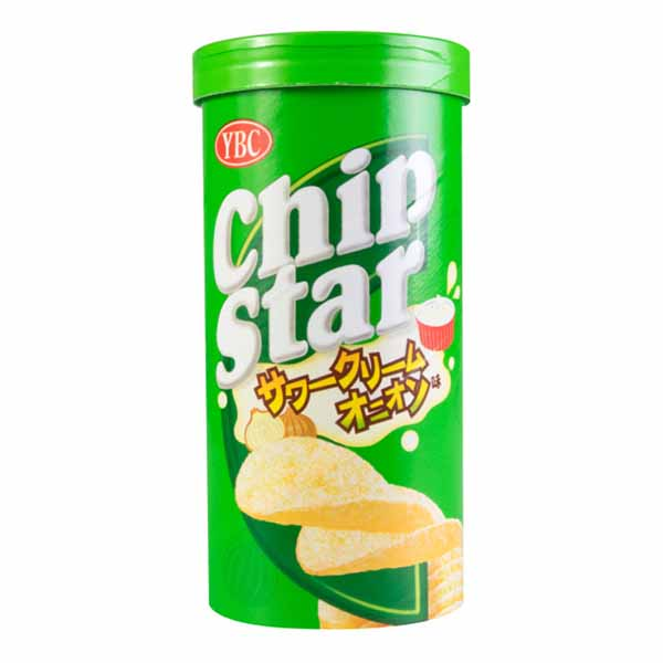 Chip Star Patate Chips Crema alla Cipolla 50g, YBC